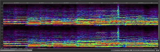 Close spectrum view Spectrum Multi color_1