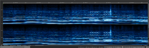 Close spectrum view Wavelet_1